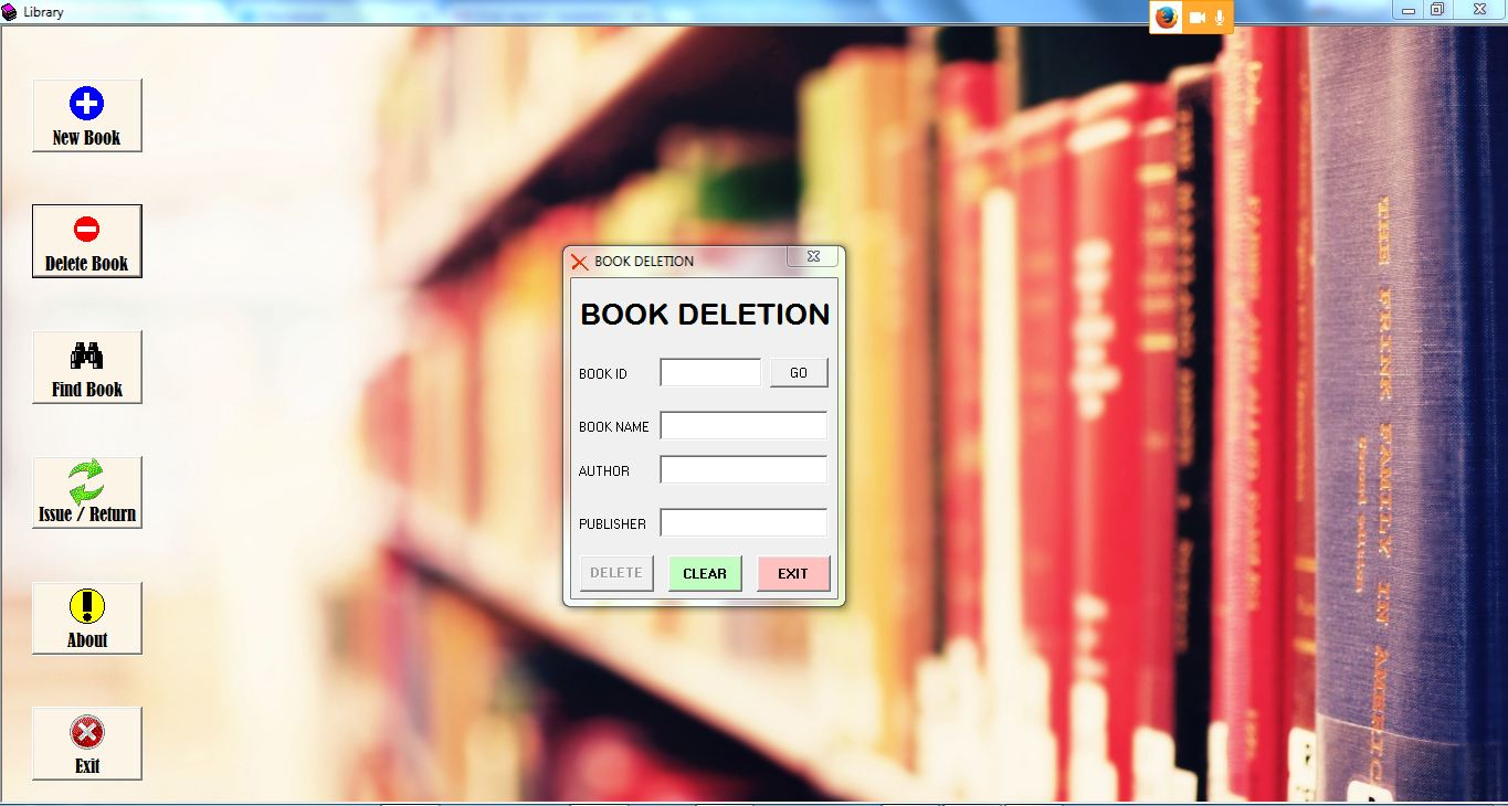Free Download Library Management System Project In Vb With Source Code And Database Ms Access With Document Kashipara